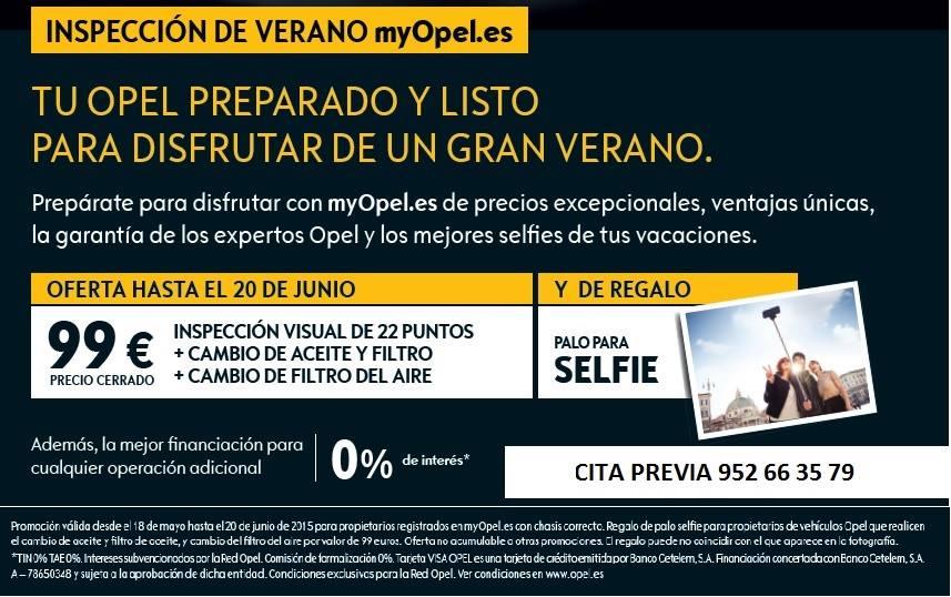 Campaña de verano Opel Autopremier
