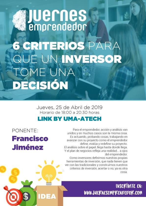 6 CRITERIOS PARA QUE UN INVERSOR TOME UNA DECISIÓN #JuernesLink Abrio